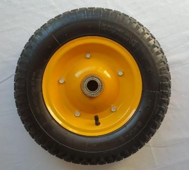 cape castors 350mm x 75mm pneumatic wheel with ball