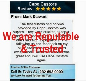 cape castors reviews